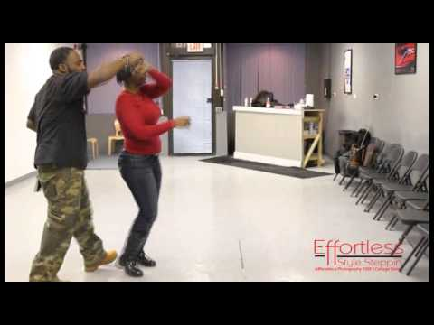 Instructors Behind The Scenes ... Chicago Style Stepping ... Efoortless Style Stepping