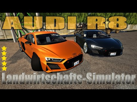 Audi R8 FS19 v1.0