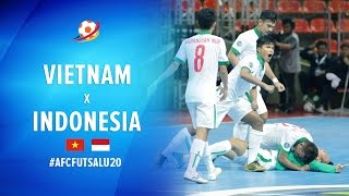 Video Vietnam (1) VS (1) Indonesia - AFC Futsal Championship 2017 U20 MP3, 3GP, MP4, WEBM, AVI, FLV Februari 2018