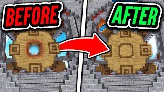 100% SECRET UNDERGROUND BASE! (Minecraft BedWars Trolling)