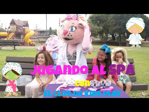#Spa con LA GATITA KIMI del CLUB DE KIDS PLAY