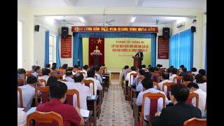 Khai giảng lớp cập nhật kiến thức mới cho cán bộ thuộc diện BTV Thành ủy quản lý
