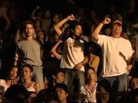 ใจนักเลง - RETURN OF THE ROCK CONCERT จัดขึ้นวันเสาร์ที่ 5 มีนาคม 2548 ณ อาคารนิมิบุตร สนามกีฬาแห่งชาติ.