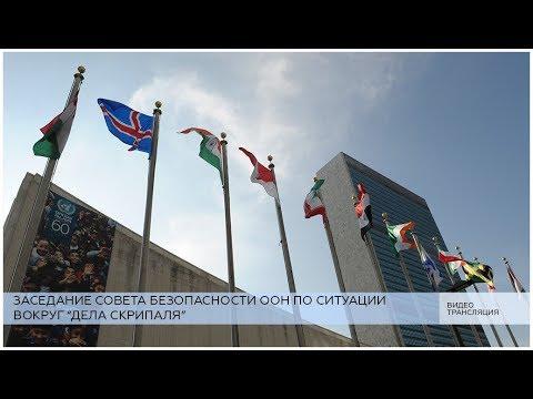 Заседание СБ ООН по \делу Скрипаля\ - DomaVideo.Ru