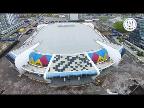 Ход строительства объектов кЗимней Всемирной Универсиаде 2019 вКрасноярске