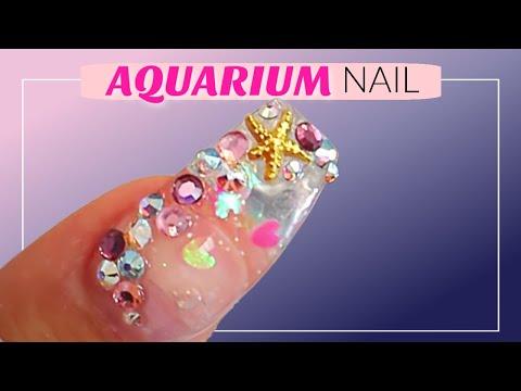nail art - acquario