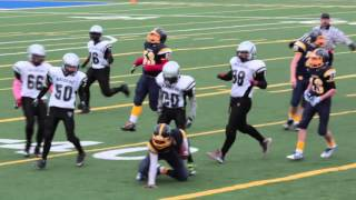 Quarter-Final - Pee Wee Warriors 60 vs Gloucester South Raiders 12