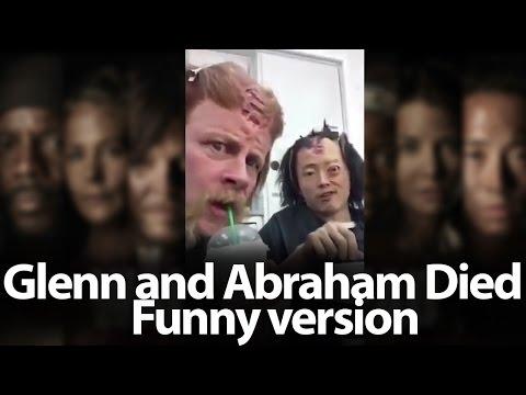 Glenn and Abraham Died, funny version  The Walking Dead, Season 7