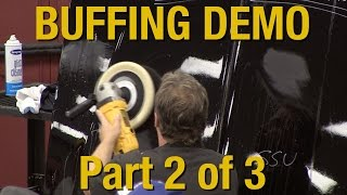 9. How To Buff Clear Coat & Polishing Your Car Part 2 of 3 - Kevin Tetz Demonstration - Eastwood