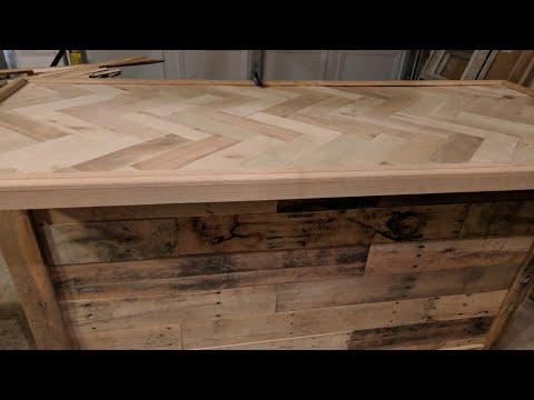Pallet Wood Bar - Part 4