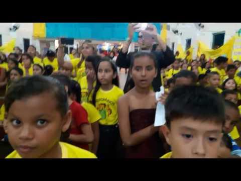 Congresso de crianças em Santa Bárbara do  Pará