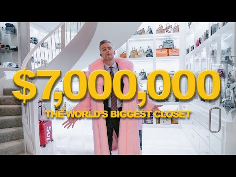 Inside the WORLD'S BIGGEST CLOSET