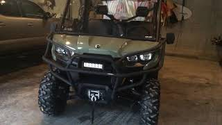 9. 2018 Can-Am Defender HD8 DPS New owner-addition of Front Corner Protectors