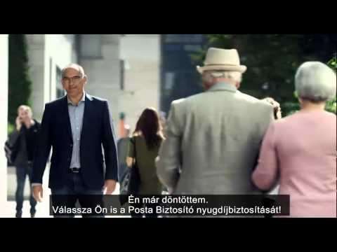 Posta Biztosító Nyugdíjbiztosítás reklám