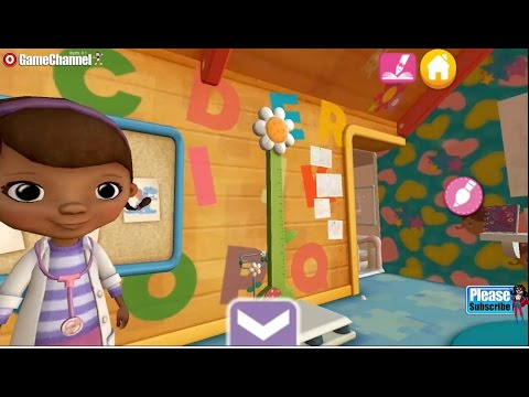 Doc McStuffins Color and Play Playrooms