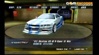 Nonton The Fast and The Furious Ps2 My cars Film Subtitle Indonesia Streaming Movie Download