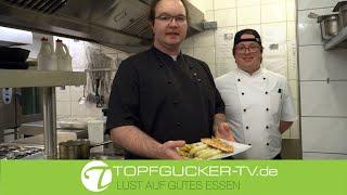 Lachsfilet | Spargel | Butter-Kräutersauce | Schlosskartoffeln | Topfgucker-TV