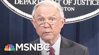 The Washington Post reports intercepts show Russian Ambassador Sergey Kislyak told Moscow he and Jeff Sessions discussed the campaign and Trump's ...