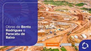 Obras de Bento Rodrigues e Paracatu de Baixo