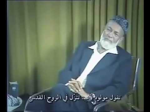 Ahmed Deedat embarrassed priest who wanted to challenge him (a rare video )