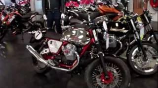 4. 2011 moto Guzzi V7 cafe racer classic Stelvio Breva 850