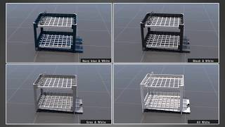 video thumbnail Multipurpose Rack Dish drying rack that can be freely resized and sterilized - L321 youtube