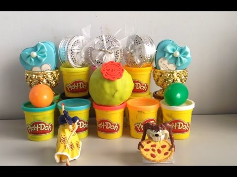 Play Doh Surprise Eggs  Trying out all the Toys!  Eps #49
