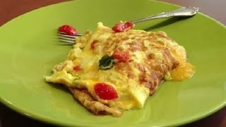 How To Cook A Delicious Egg Omelet : Easy Recipes For Kids&Adults