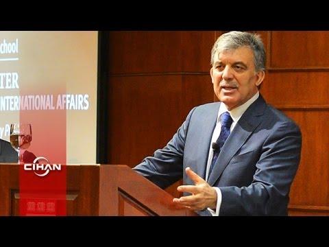 Harvard'da Abdullah Gül'e Geziyle ilgili Soru