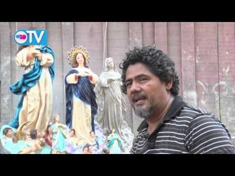 Escultores inician la elaboración de imágenes para la celebración de la Purísima