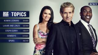 UNDISPUTED Audio Podcast (5.15.17) with Skip Bayless, Shannon Sharpe, Joy Taylor | UNDISPUTED