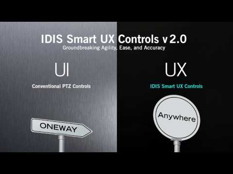 IDIS Smart UX Controls v2.0