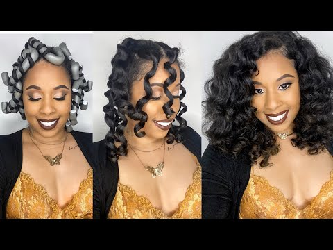 Simple Curls For The Holidays