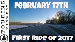First Ride Of 2017 | Sena Calvary Motovlog