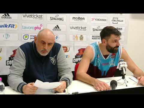 Fortitudo, la conferenza stampa di Gandini post Trapani