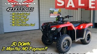 4. 2016 Rancher 420 DCT / Automatic Review of Specs - ATV SALE @ Honda of Chattanooga TN