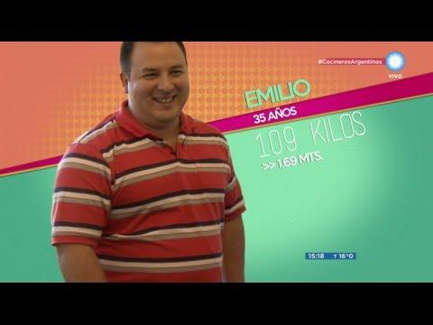 Campaña 5.0, Emilio se suma para cambiar su alimentación