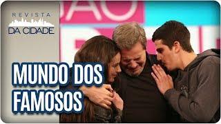 Gabriel Perline conta as principais notícias do #MundoDosFamosos! -Valesca Popozuda posta vídeo lamentando a morte de seu DJ e amigo. -Rogéria tem ...