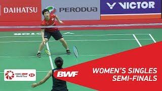 Download Video WS | Ratchanok INTANON (THA) [5] vs Akane YAMAGUCHI (JPN) [2] | BWF 2018 MP3 3GP MP4