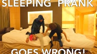 Video SLEEPING PRANK GOES WRONG!!! MP3, 3GP, MP4, WEBM, AVI, FLV November 2018