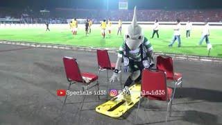 Video Aksi Kocak Zoro di Stadion Dipta Bali dan Tukar merchandise maskot Bali united - Persebaya MP3, 3GP, MP4, WEBM, AVI, FLV November 2018