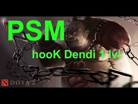 PSM   LVL 1 Hook Chain Stun First Blood vs Na`Vi Dota 2