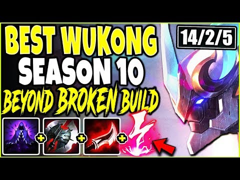 BEST WUKONG SEASON 10 BUILD GUIDE! HOW TO PLAY WUKONG & CARRY! LoL TOP Wukong s10 League of Legends