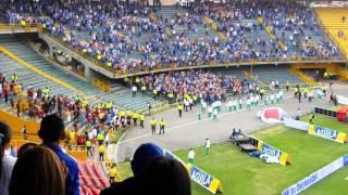 Video Pelea barras Millonarios vs Tolima. MP3, 3GP, MP4, WEBM, AVI, FLV Oktober 2017