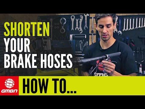 How To Shorten Your Disc Brake Hoses | Mountain Bike Maintenance