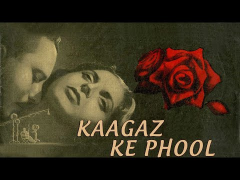 Kaagaz Ke Phool (1959) Hindi | Waheeda Rehman, Guru Dutt, Kumari Naaz | Full Movie