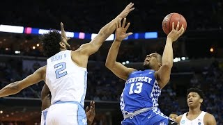 Kentucky and North Carolina went back-and-forth all afternoon long in an incredible South Regional Championship in Memphis.