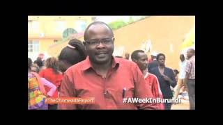 The Chamwada Report - [Burundi Promo] - The Burundi Report