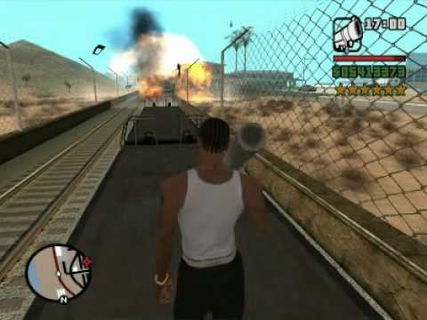 6 Stars Train Getaway GTA San Andreas