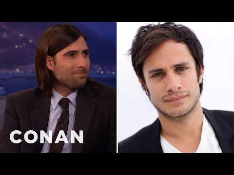 Jason Schwartzman's Sexy Encounter With Gael Garcia Bernal  – CONAN on TBS